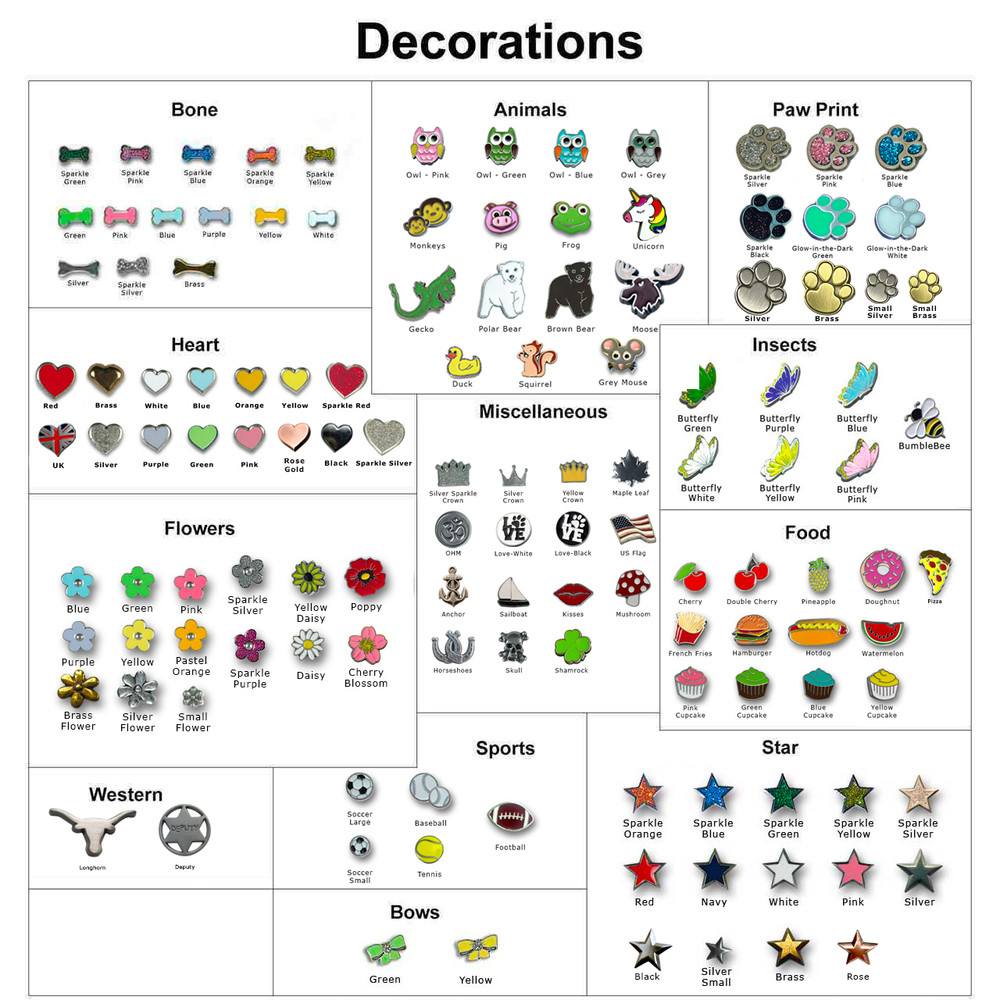 Collar and leash decorations 2021