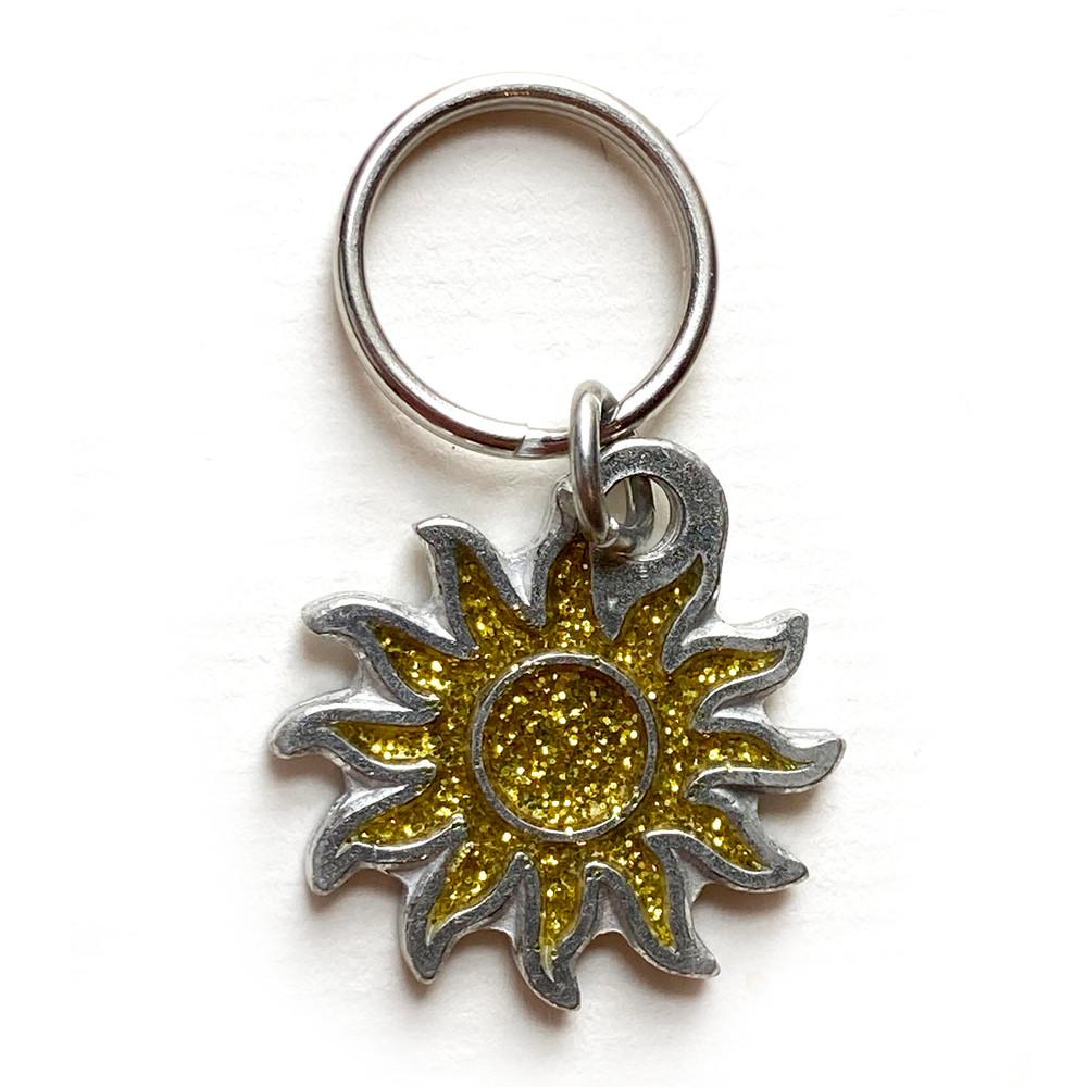 Sparkle Sun Charm