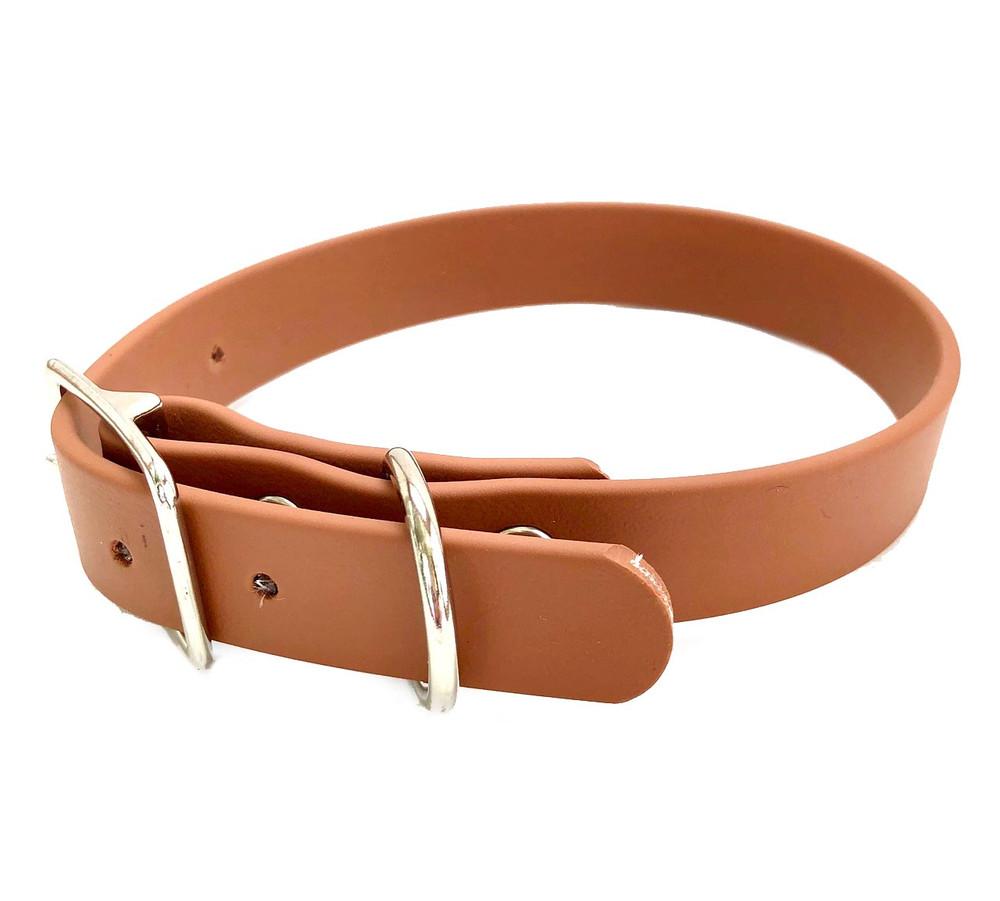 Camel Vegan Leather Collar