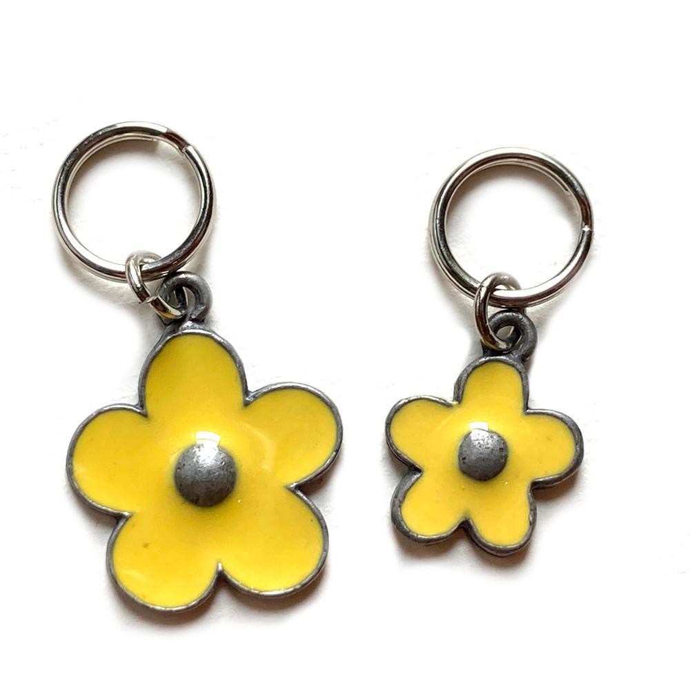 Yellow Flower Charm