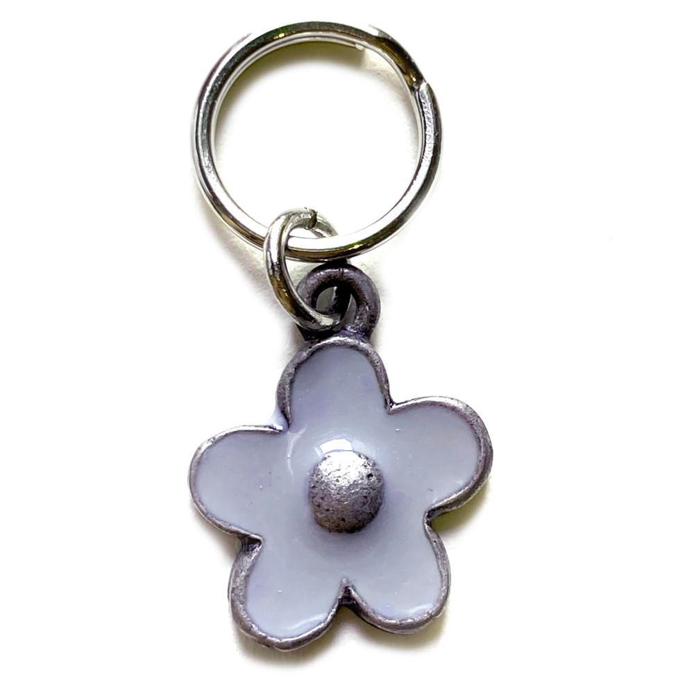 Light Purple Flower Charm (small)