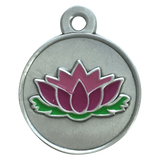 Lotus dog tag