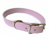Lilac vegan leather collar