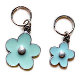 Light Blue Flower Charm