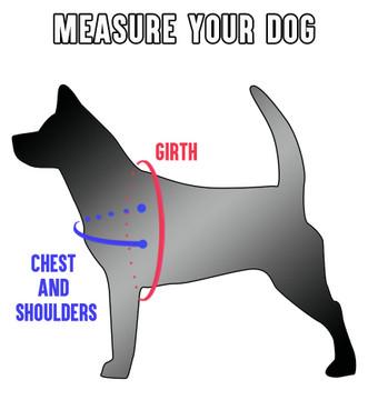 """Mitzi"" Harness in Vegan Leather: Dog"