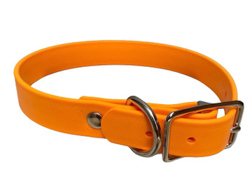 Creamsicle Vegan Leather Collar