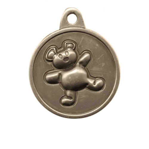 Teddy Bear ID Tag - Free Shipping