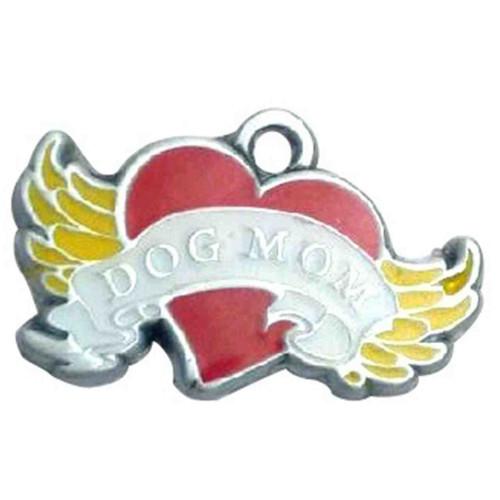 Dog Mom ID Tag