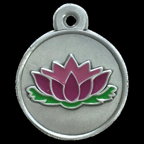 Lotus  ID Tag - Free Shipping