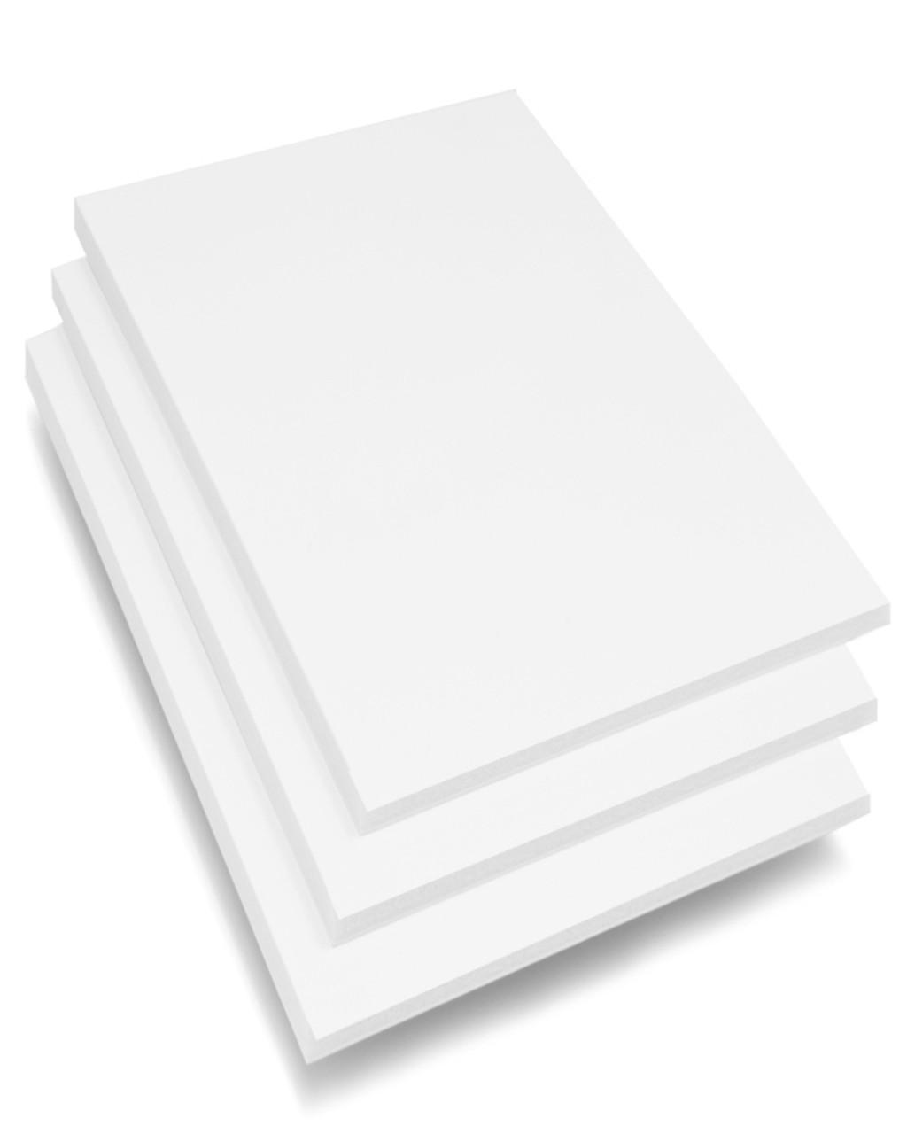 """Thick White Foam Board 3/16"""""""