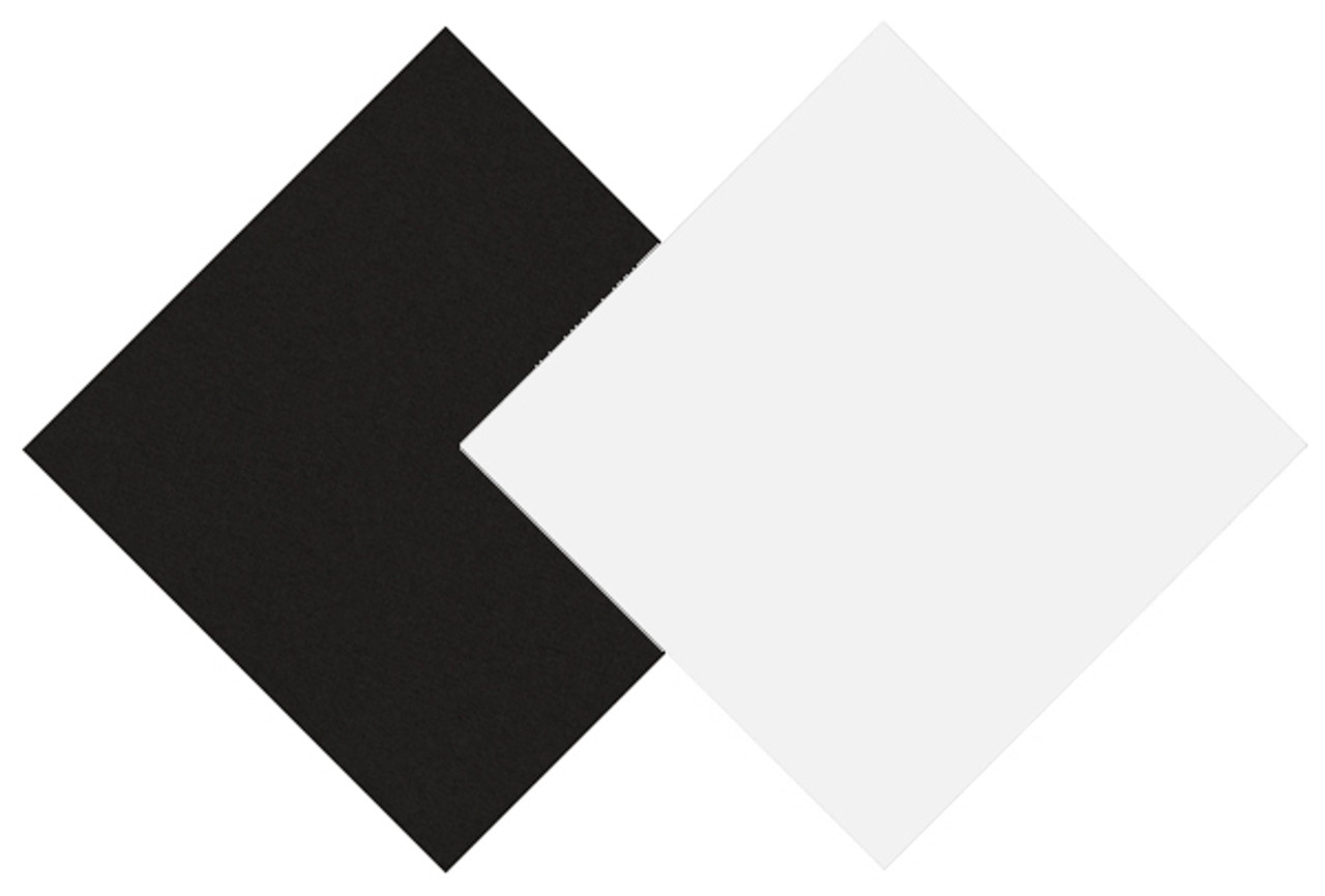 Dual Black/White Presentation Board