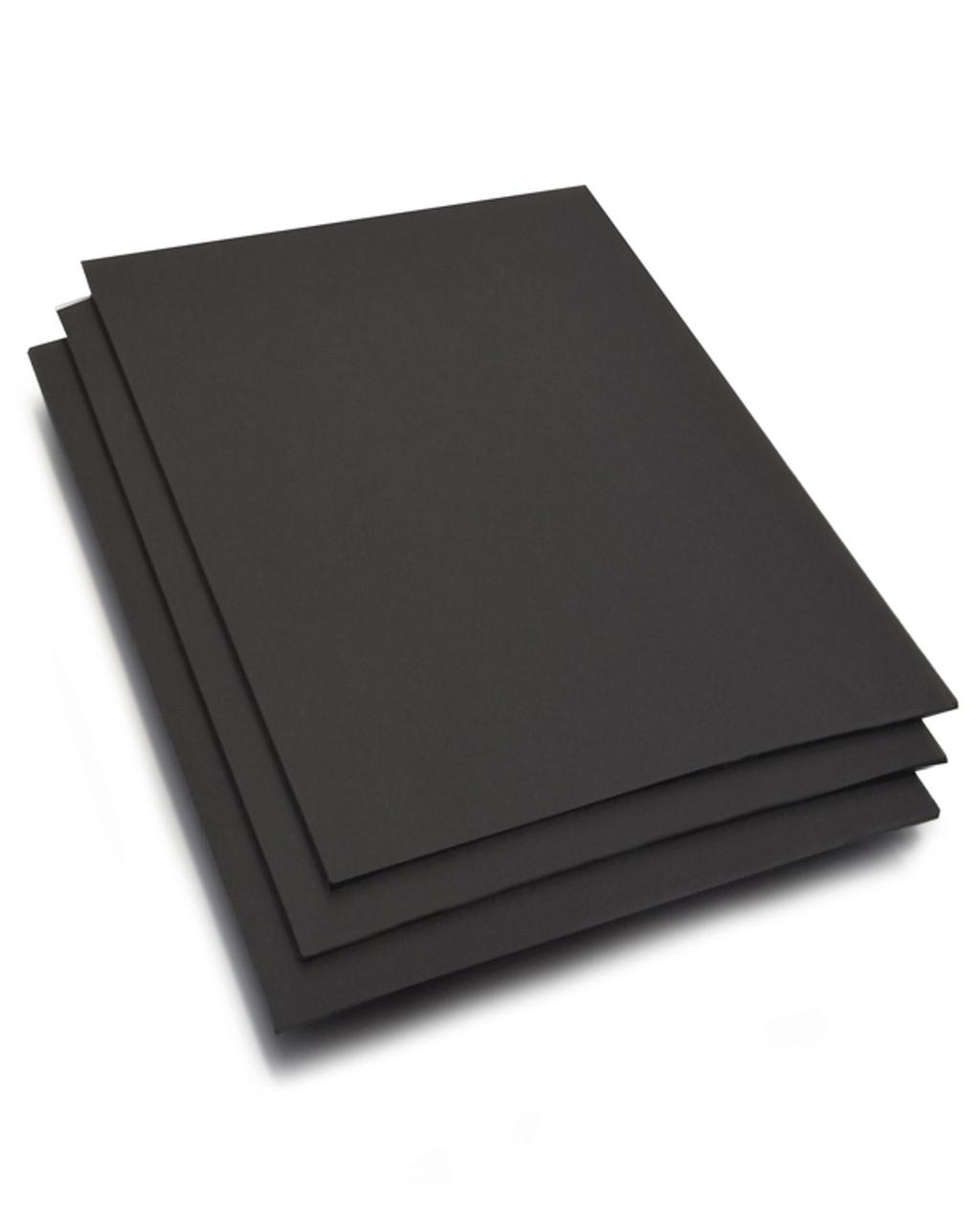 """Black Chipboard - Medium Weight .04"""""""