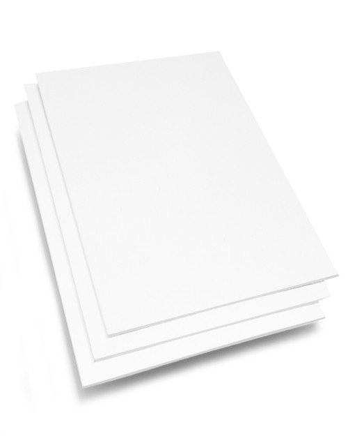 8x10 Conservation White Backing Board
