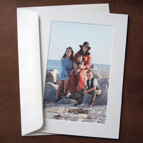 Flint White Photo Insert Cards - 10 Pack