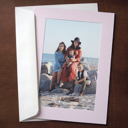 Cranberry Ice Photo Insert Cards - 10 Pack