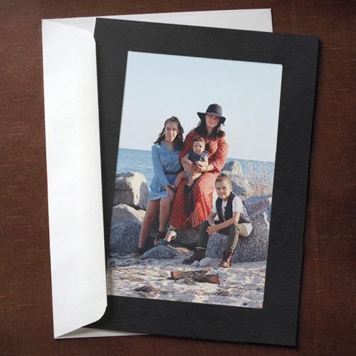 Black Photo Insert Cards - 10 Pack
