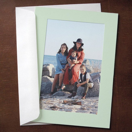 Mint Green Photo Insert Cards - 10 Pack
