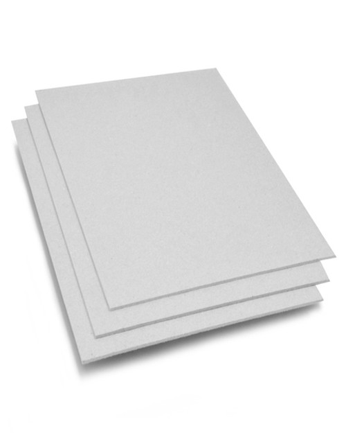 8x8 Gray Chipboard - Heavy