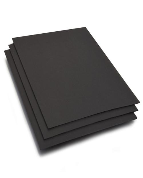 8.5x11 Ultra-Black #8 Board