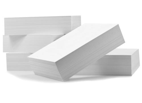 5x7 Standard White Backer Board - 100 Pack