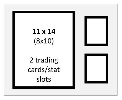 Item 205x - 11x14 Standard Double Mat
