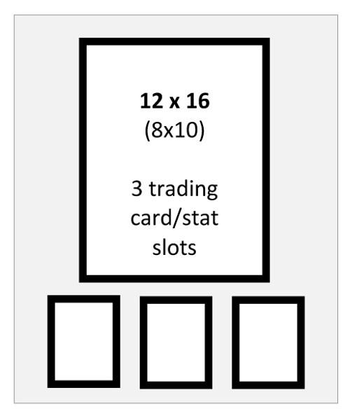 Item 304x - 12x16 Standard Double Mat