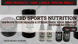 NEW PRODUCTS, NEW LABELS, SPECIAL DEALS ON MY FIT LIFE CBD!