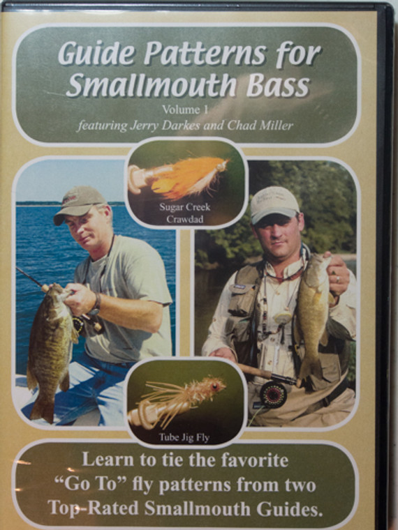 Guide Patterns for Smallmouth Bass DVD