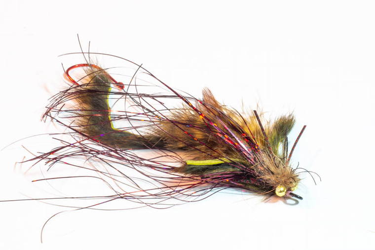 Shrew Sculpin--Deadly fall and winter fly for steelhead and lake run browns.