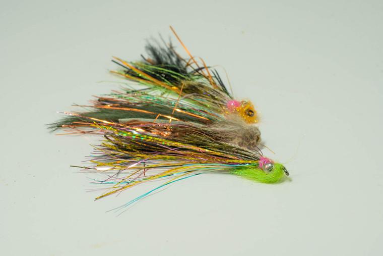 Aqua Flies Selection, 3 swing flies