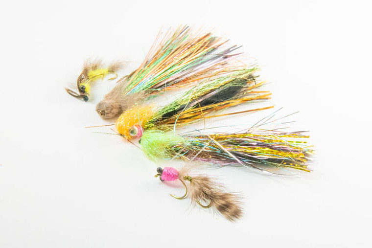 5 Flies Feenstra Selection--Tied by Aqua Flies