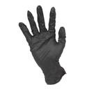 Black Nitrile Gloves 100pcs Pack - Small
