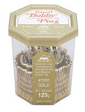 555 Bobby Pins 1.5' Gold 250g Made In Japan