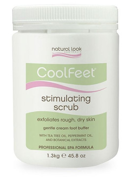 Natural Look Cool Feet Stimulating Scrub 1.3kg