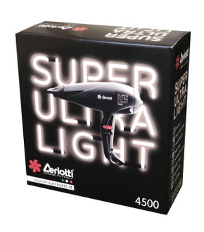 Ceriotti Super Ultra Light 4500 Professional Hair Dryer - Made in Italy