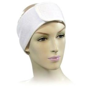 Velcro White Headband