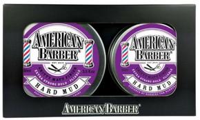 American Barber Hard Mud Wax Duo Pack 50ml & 100ml