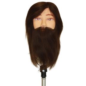 Jules Bearded Male Mannequin Head