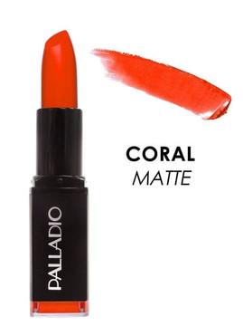 Palladio Matte LipColor - Coral Matte