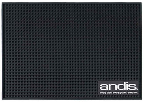Andis Professional Rubber Mat For Barber Clippers, Trimmers, Scissors - Large