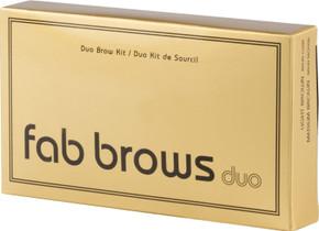 Fab Brows Duo Eyebrow Kit - Light Brown / Medium Brown