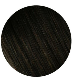 """Salon Professional Clip In Hair Extensions #1B 20"""""""
