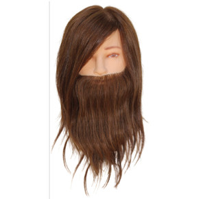 Max Bearded Male Mannequin Head