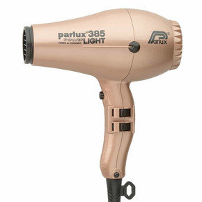 Parlux 385 Power Light Ceramic and Ionic Hair Dryer - Rose Gold