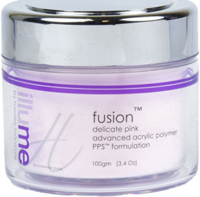 Hawley Manicure Fusion Delicate Pink Advanced Acrylic Polymer PPS Formulation 100gm 1