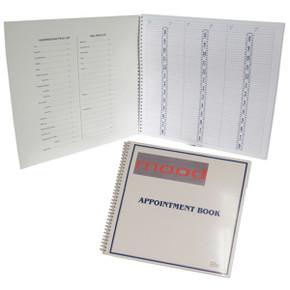 6 Column 15 Min Intervals Appointment Book