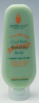 Natural Look Cool Feet Scrub   200ml