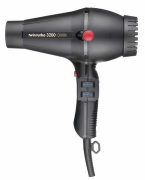 NEW Twin Turbo 3200 Professional Compact Hot & Cold Hair Dryer
