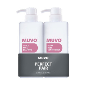 Muvo Professional Ultra Rose Shampoo & Conditioner Duo - 500ml