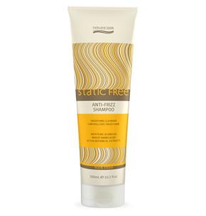 Natural Look Static Free Anti Frizz Shampoo with Jojoba Oil 300ml